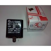 Relé de Piscas CT50S 12V Universal (Scooter) - 14600043