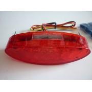 Farolim Oval 15 Led Vermelho