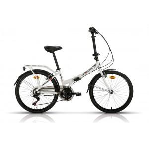 Bicicleta MEGAMO Dobrável ZAMBRA - roda 24 preto